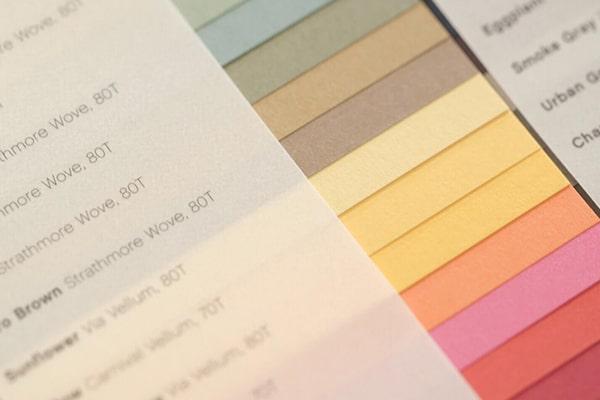 Kolory papieru