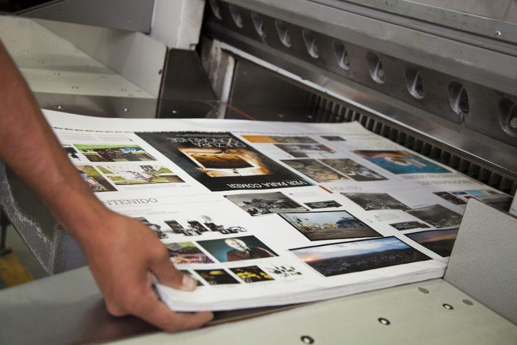 Cyfrowy vs offsetowy druk